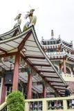 Taoistycznego Świątynnego Cebu Filipińskiego dnia jaskrawy barwiony piękny Zdjęcia Royalty Free