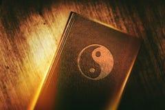 Taoizm książka harmonia Zdjęcia Stock