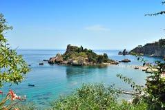 taomina isola bella Стоковые Фото