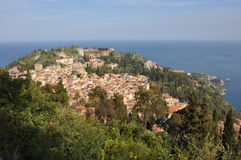 taormia Сицилии Стоковое Фото