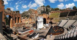 Taormia, chiesa di San Giuseppe, Sicilie Fotografia Stock Libera da Diritti