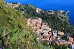 Taormina,西西里岛 免版税库存照片