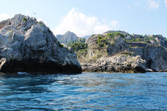 Taormina, πολύτιμος λίθος της Σικελίας Στοκ εικόνες με δικαίωμα ελεύθερης χρήσης