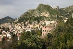 taormina της Ιταλίας Σικελία Στοκ Εικόνα