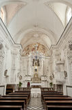 Taormina, интерьер церков ² Varà Стоковое Фото
