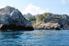 Taormina, самоцвет Сицилии Стоковые Изображения RF