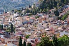 taormina Сицилии стоковые фото