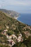Taormina. The beautiful small town of Taormina, Sicily Royalty Free Stock Photography