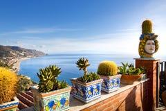 Taormina Foto de Stock Royalty Free
