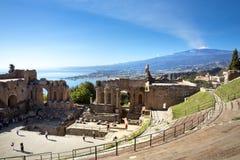 Taormina Imagem de Stock Royalty Free