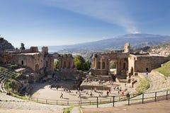 Taormina Imagens de Stock Royalty Free