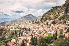 Taormina photos stock