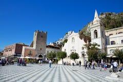 Taormina Foto de archivo