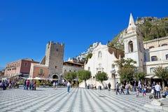 Taormina Foto de archivo libre de regalías