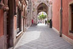 Taormina imágenes de archivo libres de regalías
