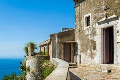 Taormina ancient church Stock Photography