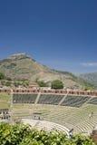 Taormina antiguo del teatro Foto de archivo libre de regalías