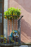 Taormina Balcony Royalty Free Stock Image