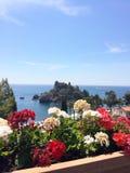 Taormina bedda Włochy obraz royalty free