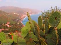 Taormina bonito Fotografia de Stock