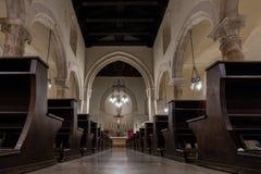 Taormina Cathedral in Taormina, Sicily, Italy Stock Photos