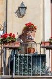 Taormina Ceramisch hoofd van Moor royalty-vrije stock foto