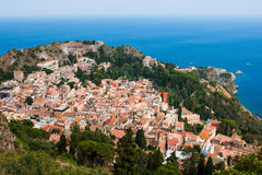 Taormina city Royalty Free Stock Photo