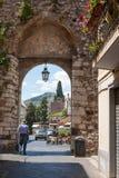 Taormina - city gate Royalty Free Stock Photo