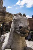 Taormina Fountain Horse by Vincenzo Cacopardo Stock Image
