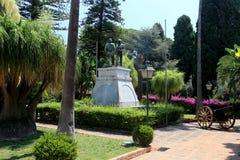 Taormina gardens Stock Photos