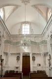 Taormina, intérieur de l'église du ² de Varà Image libre de droits