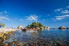 Taormina - Isola Bella Royalty Free Stock Photography