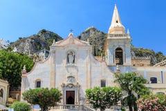 Taormina, Itália Fotografia de Stock