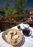Taormina Italia del restaurante Fotografía de archivo libre de regalías