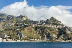 Taormina, Italie Images libres de droits