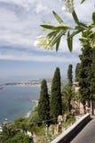 Taormina Italien Stockfoto