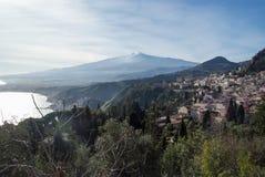 Taormina, Italien Stockfoto