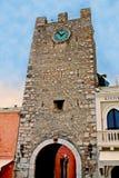 Taormina Italien Stockfotos