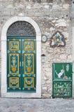 Taormina kąty zdjęcie royalty free