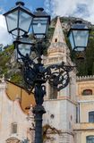 Taormina Kerk van St Giuseppe royalty-vrije stock afbeelding