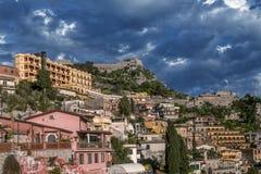 Taormina Messina, Sicilien, Italien royaltyfri bild