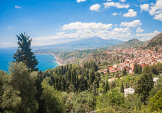 Taormina Naxos Royalty Free Stock Photo