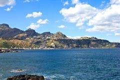 Taormina på Sicily Royaltyfri Foto