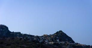 Taormina przy nocą zdjęcia royalty free
