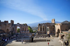 Taormina Royalty Free Stock Photography