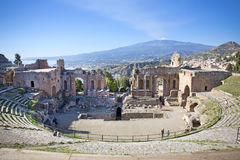 Taormina Stock Photo