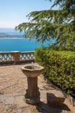 Taormina's park Royalty Free Stock Photography