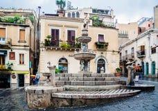 Taormina Sicília Itália fotografia de stock royalty free