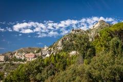 Taormina, Sicile dans un jour ensoleillé Image stock