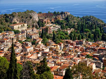 Taormina - Sicilian tourist resort Stock Images